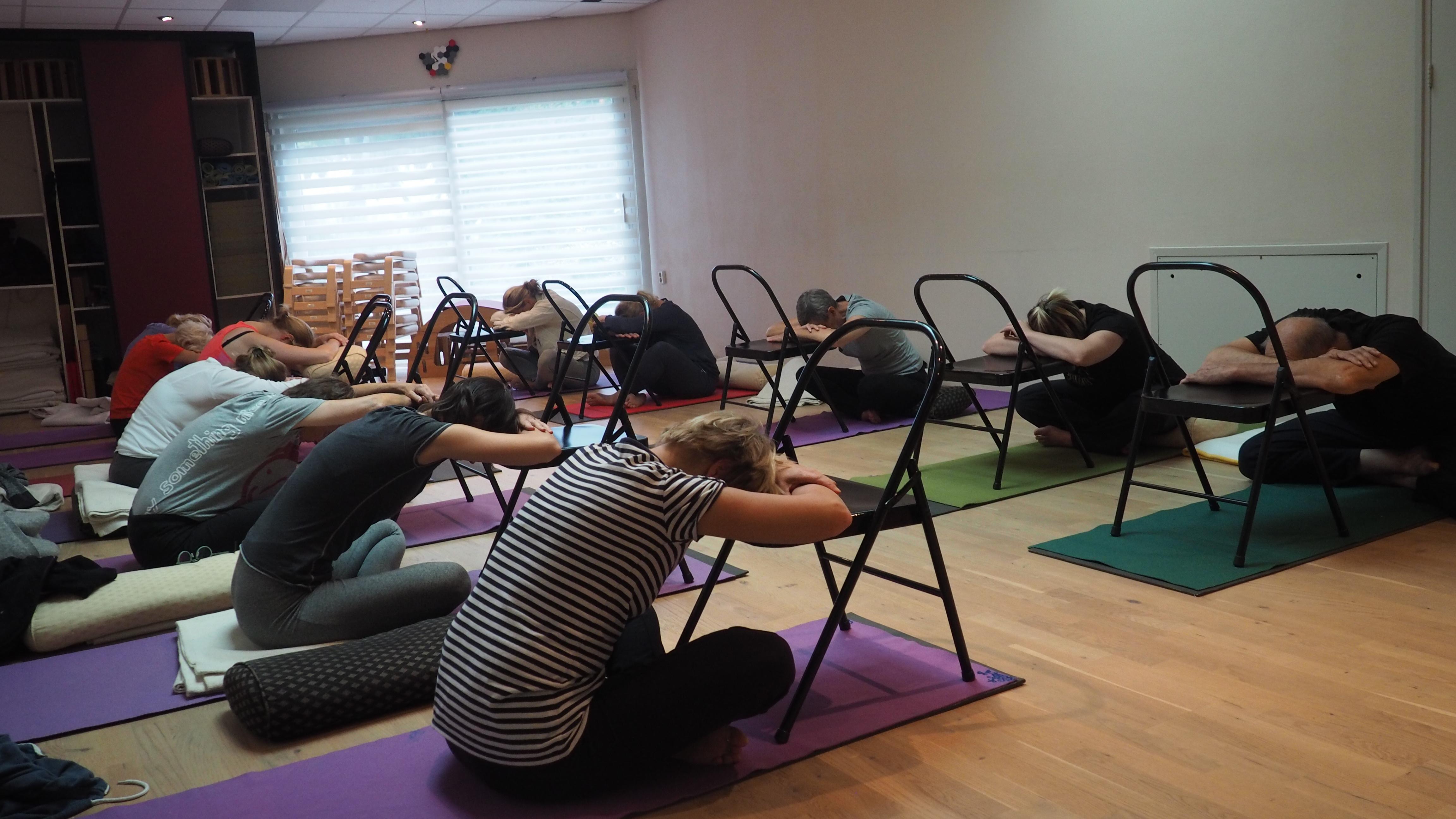 Hulpmiddelen bij yoga